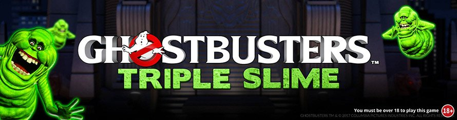 Ghost Busters Slime Slot Banner