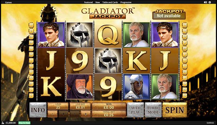 Free Slots Games Gladiator