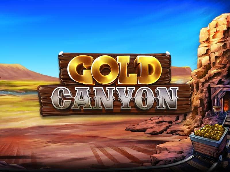 Gold Canyon Betsoft Slot Logo