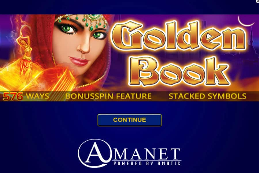 Golden Book Slot Featured Image