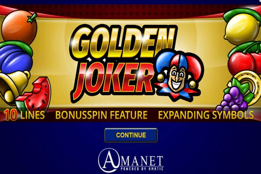 Golden Joker Slot Featured Image