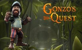 Claim Gonzo's Quest Slot Bonus by Genesis to £100 + 300 Free spins