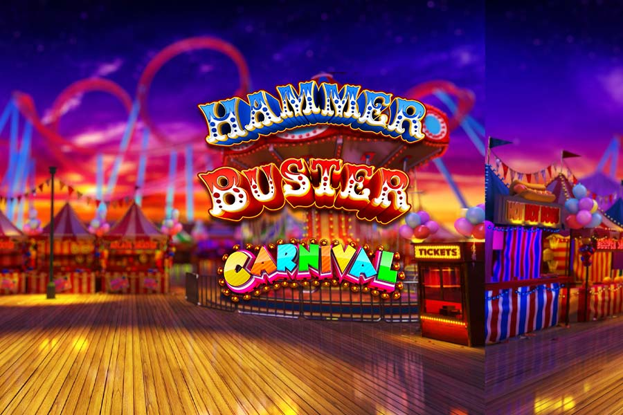 Hammer Buster Carnival Slot Featured Image