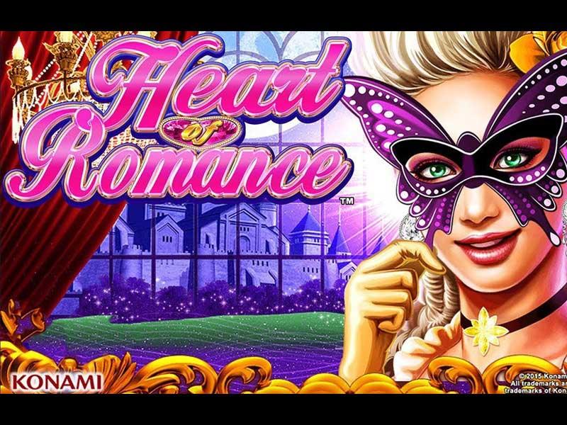 heart romance free slot logo