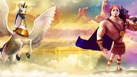 Hercules And Pegasus Slot Pragmatic Play Review Logo