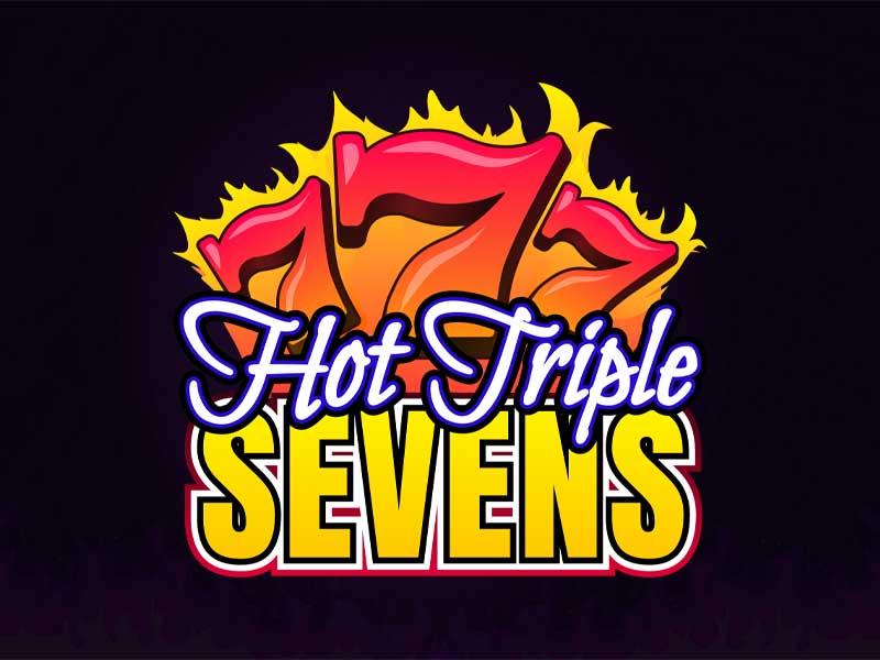Hot Triple Sevens Slot Featured Image