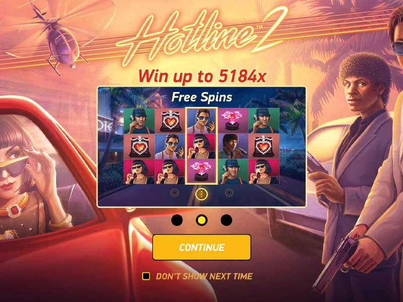 Hotline 2 Free Slot