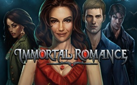 £10 on Immortal Romance Slot by 32 Red Online Casino