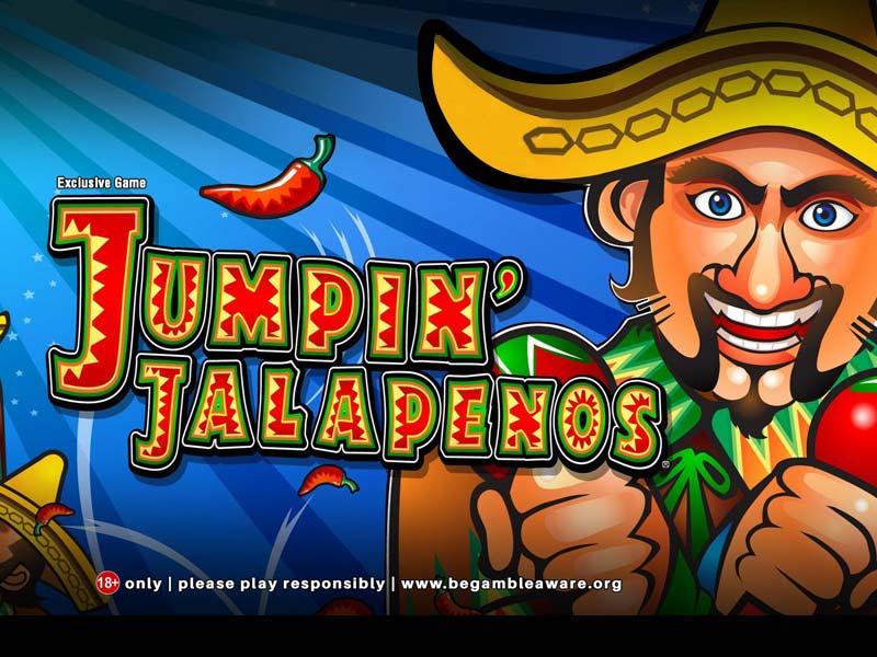 Jumpin Jalapenos slot game logo