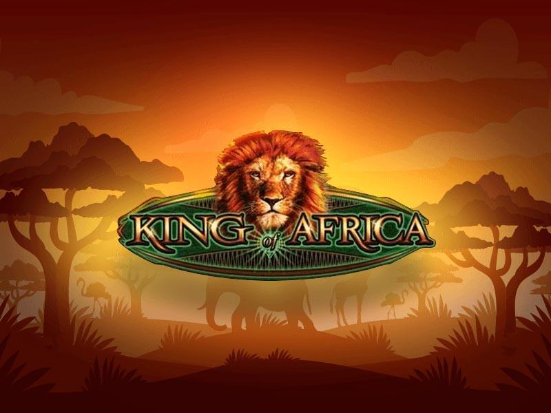 free King of africa slot machine logo