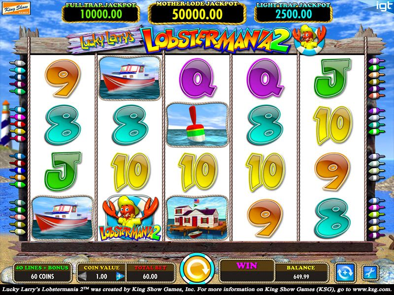 Lucky Larry S Lobstermania 2 Slot To Play Free Amp For Money