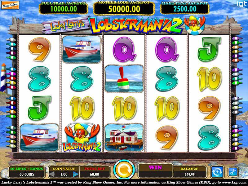 Lucky Larry's Lobstermania 2 Slot Online