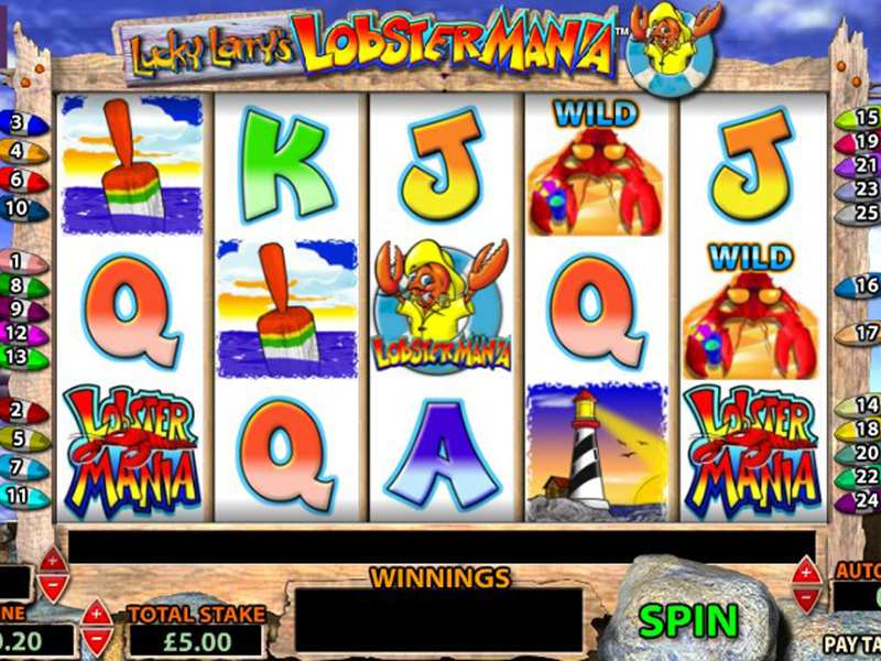 Play lobstermania slot game how to play casino video slots