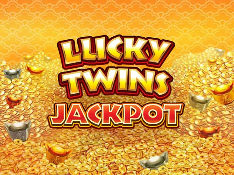Lucky Twins Jackpot Slot Logo