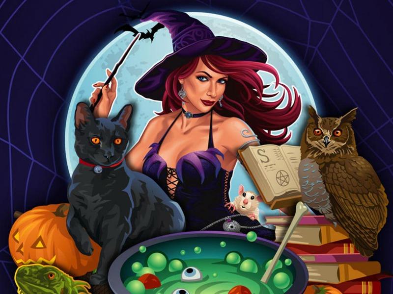 Free Slot Machine Witch