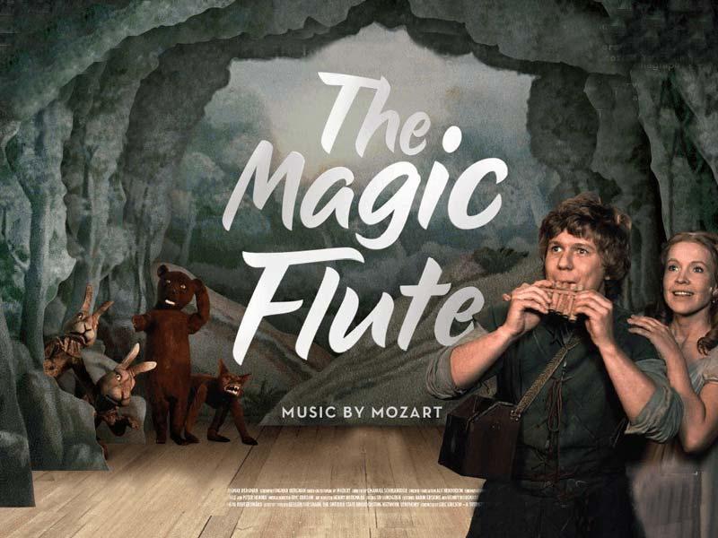 magic flute free slot logo