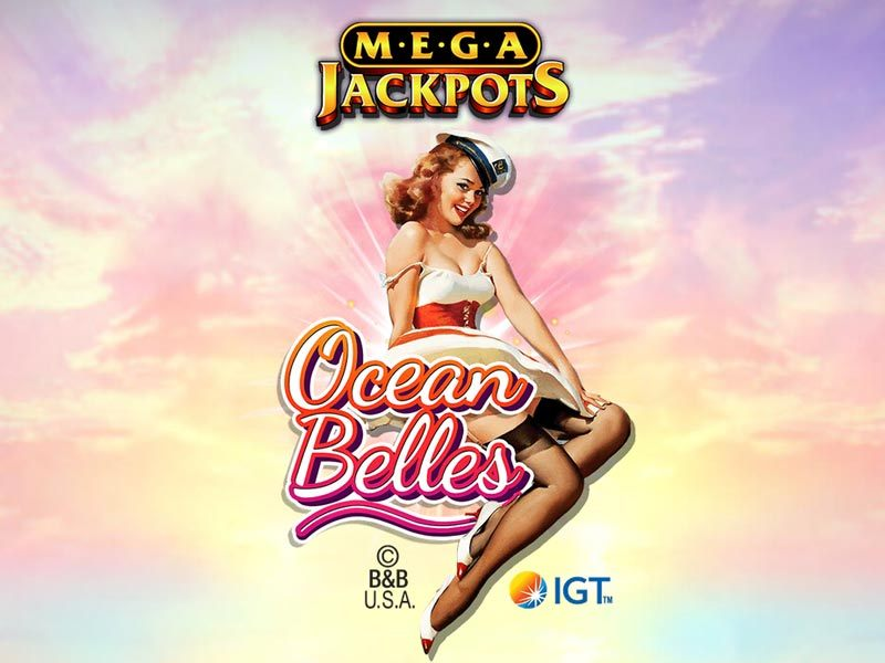 Megajackpots Ocean Belles Free Slot Logo