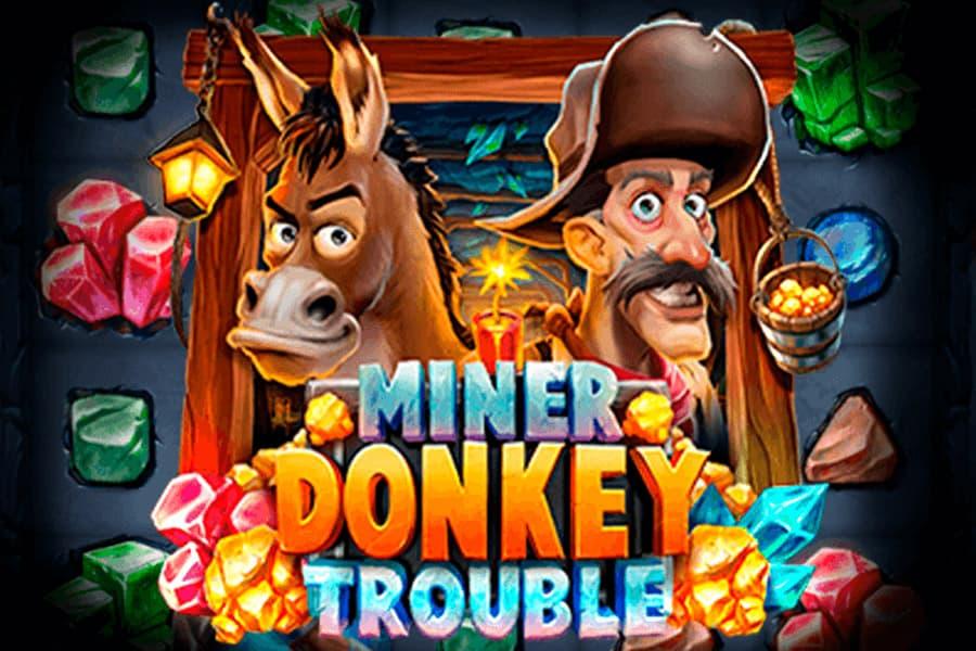 Miner Donkey Trouble Slot Featured Image