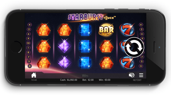 mobile Starburst free slot to play