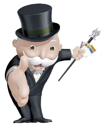 Monopoly Slot Character
