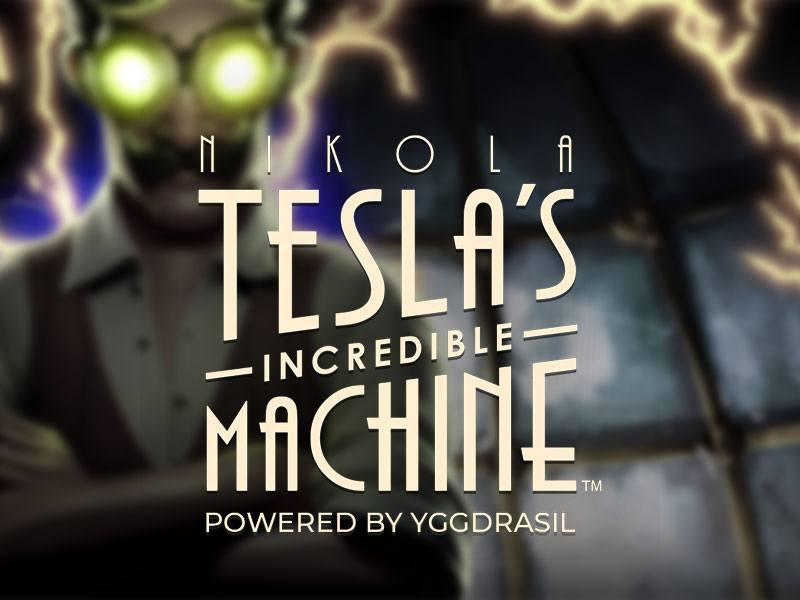 Nikola Tesla's Incredible Machine Free Slot Logo