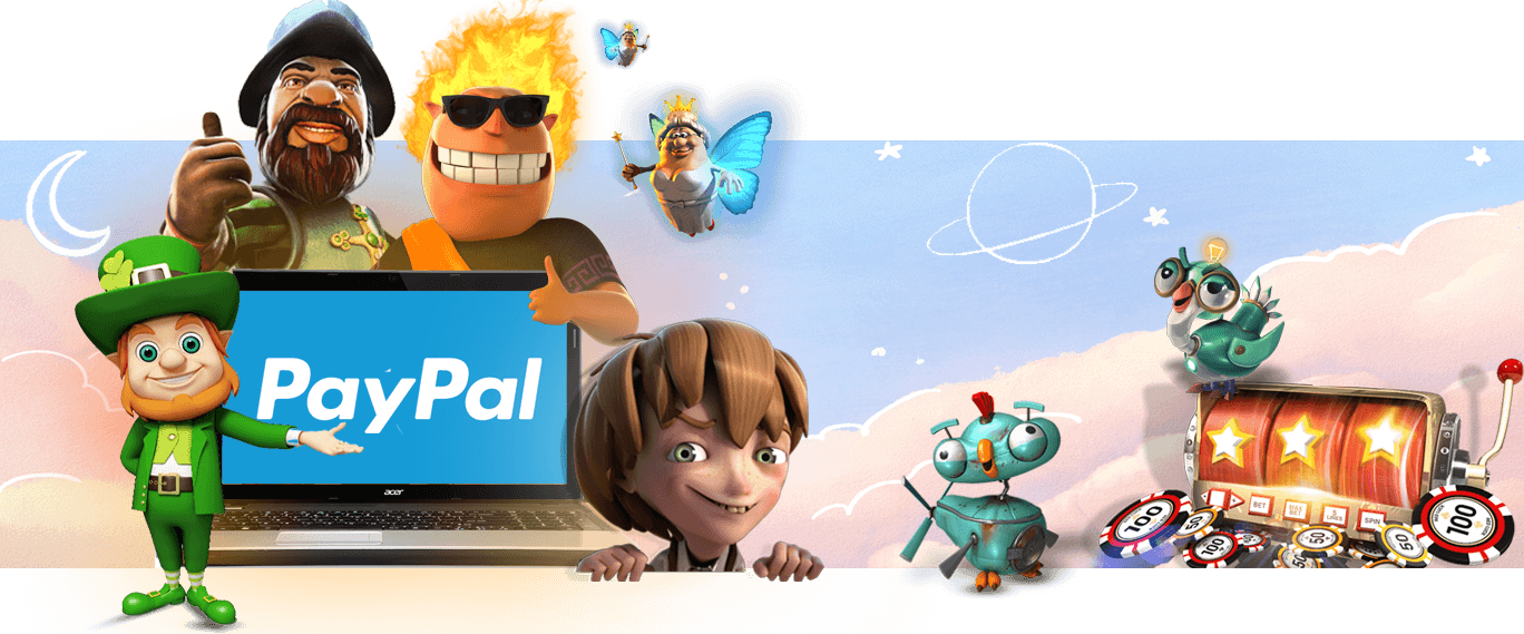 Paypal slots & online casinos for real money
