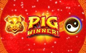 $7777 + 300 Free Spins on Pig Winner Slot by Sloto Cash Casino