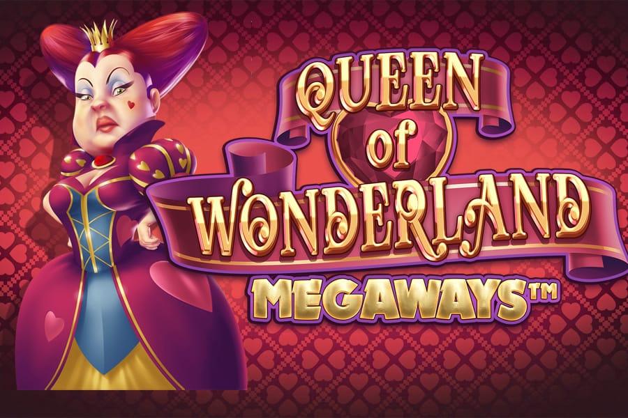 Queen of Wonderland Megaways Slot Featured Image