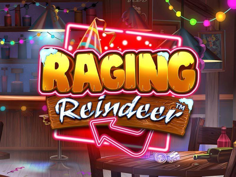 Raging Reindeer iSoftBet Slot Logo