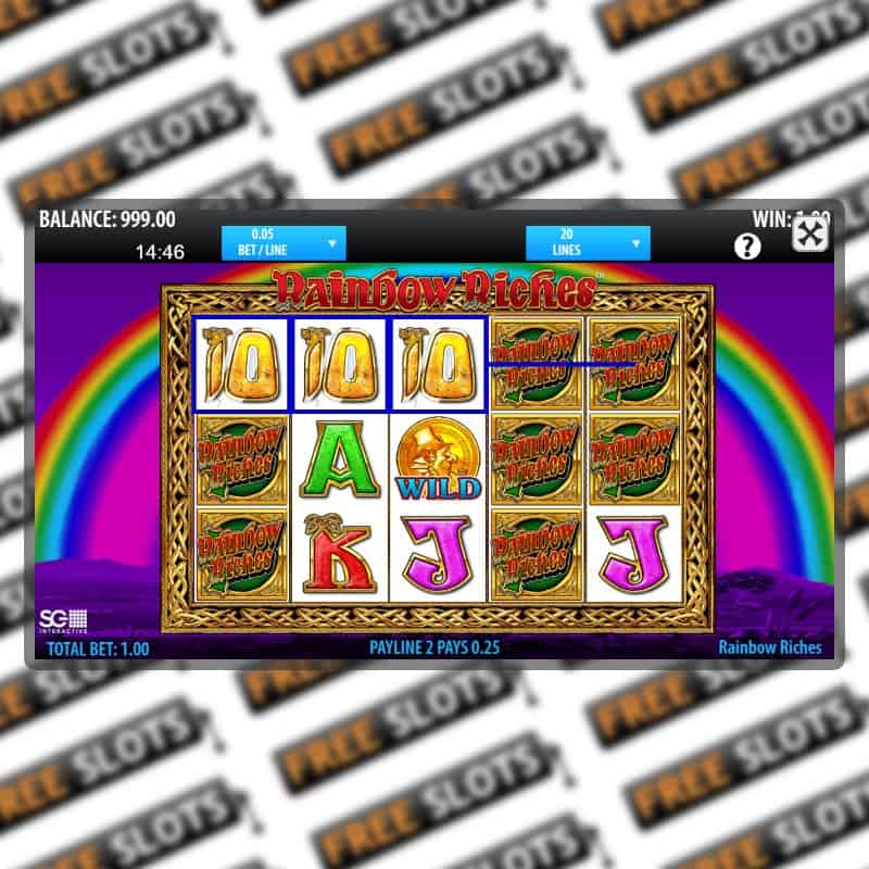 Free Slot Machine Rainbow Riches