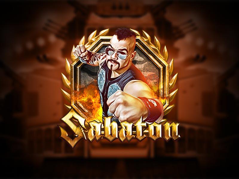 Sabaton Free Slot Logo