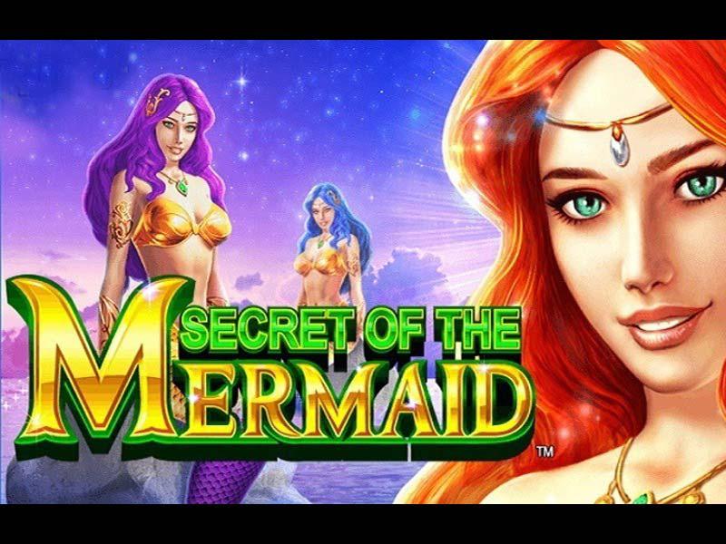 secret of the mermaid free-slot logo