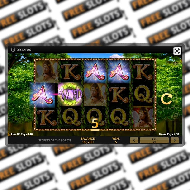 Secret Of The Forest Slot Machine