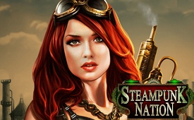 77 Free Spins No Deposit Free Spins on Steampunk Nation Slot by 777 Casino