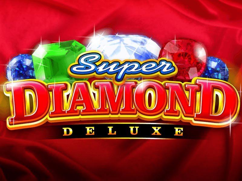 super diamond deluxe slot by FSND logo