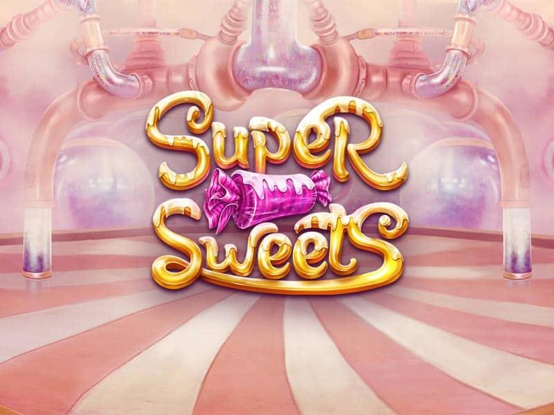 Super Sweets Betsoft Slot Logo