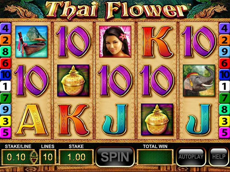 Spiele Thai Flower - Video Slots Online