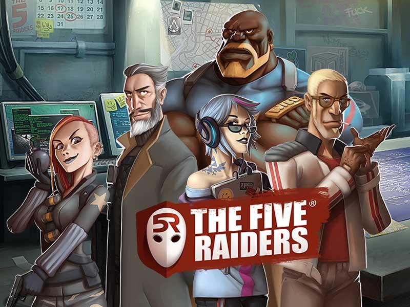 The Five Raiders Slot Free