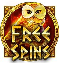 The Golden Owl Of Athena Free Spins Symbol