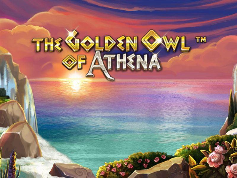 The Golden Owl Of Athena Logo Free Slots