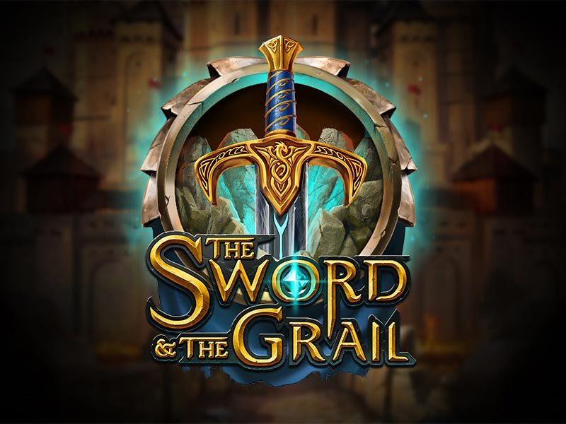 The Sword and The Grail Free Slot Logo