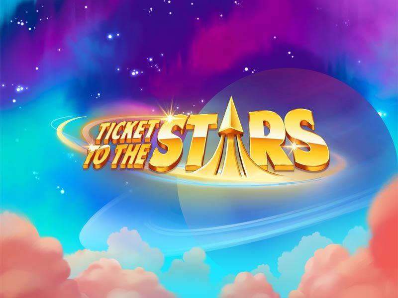 Ticket to the Stars Quickspin Slot Logo