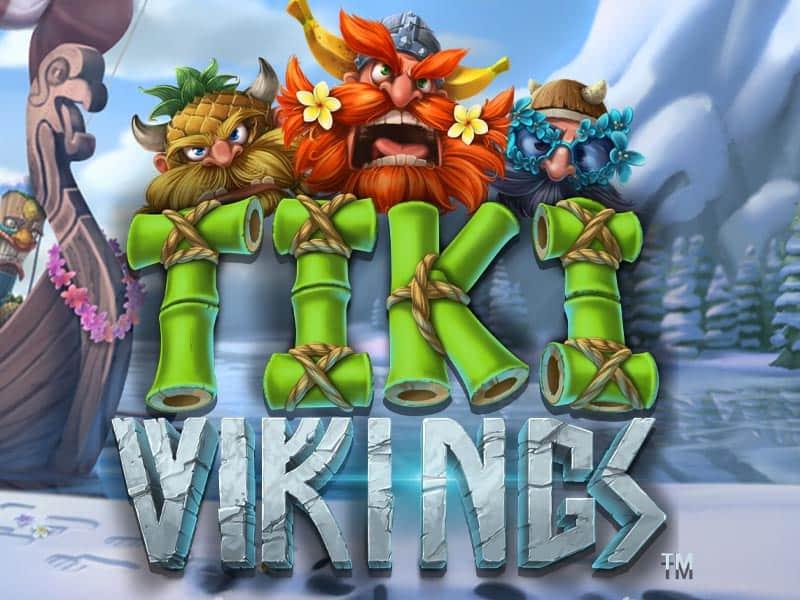 Tiki Vikings Microgaming Slot Logo