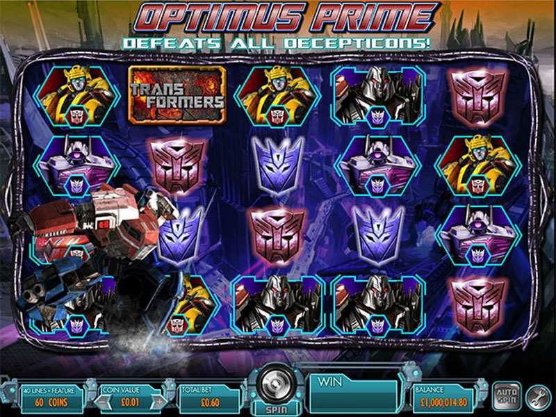 Transformers battle for cybertron slot machine vidio domino poker 99