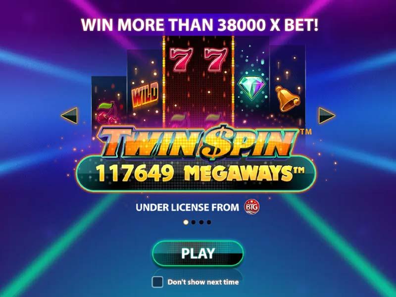 Twin Spin Megaways Free Slot