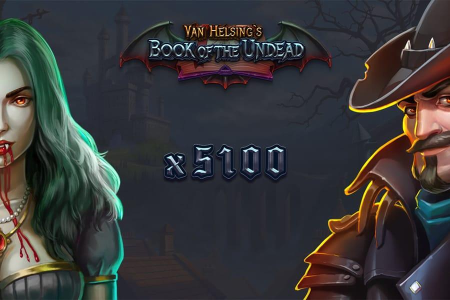 Van Helsings Book Of The Undead Slot Featured Image