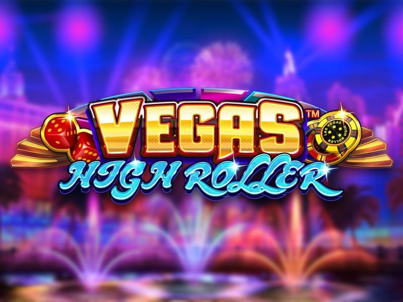 Vegas High Roller Free Slot Logo