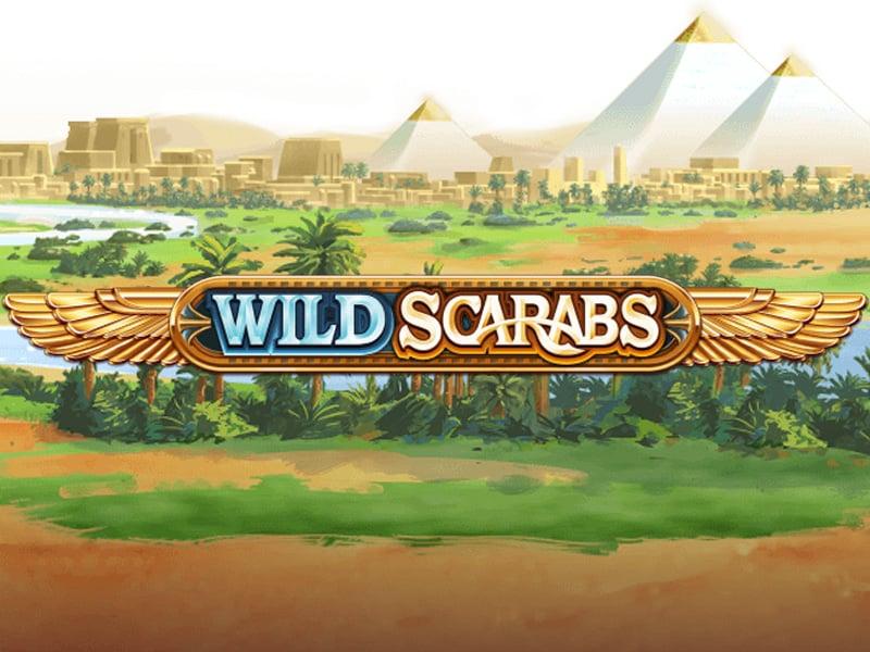 Wild Scarabs Slot Logo