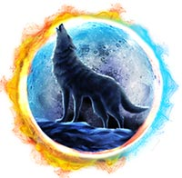 Wolf Moon Rising Slot High Value Symbol